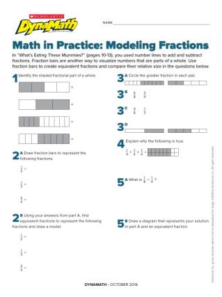 Manipulatives And Visual Models