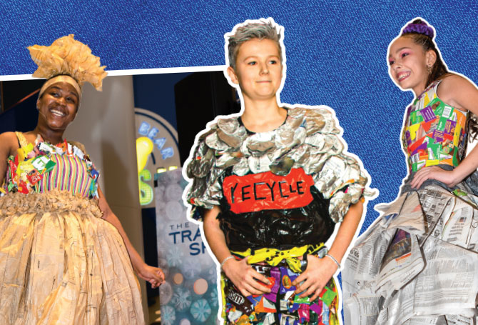 Trash To Fashion Fractions Article For Students Scholastic Dynamath Magazine
